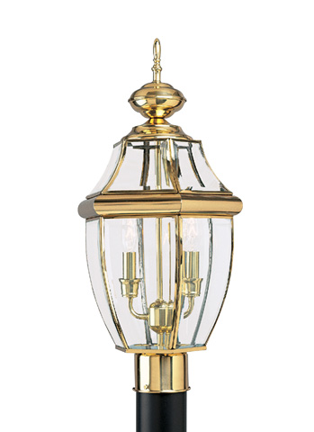 Image of Two Light Outdoor Post Lantern