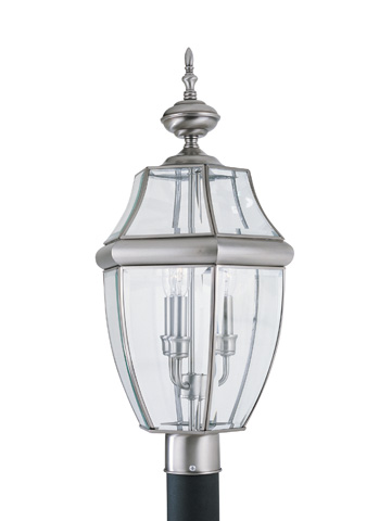 Sea Gull Lighting - Three Light Outdoor Post Lantern - 8239-965