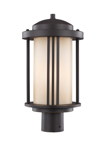 Sea Gull Lighting - One Light Outdoor Post Lantern - 8247901BL-71
