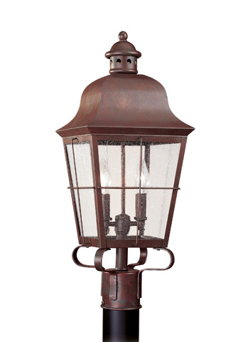 Sea Gull Lighting - Two Light Outdoor Post Lantern - 8262-44