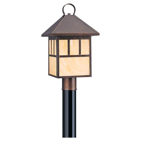 Sea Gull Lighting - One Light Outdoor Post Lantern - 82947BL-71