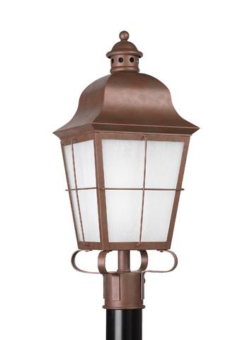 Sea Gull Lighting - One Light Outdoor Post Lantern - 82973BL-44