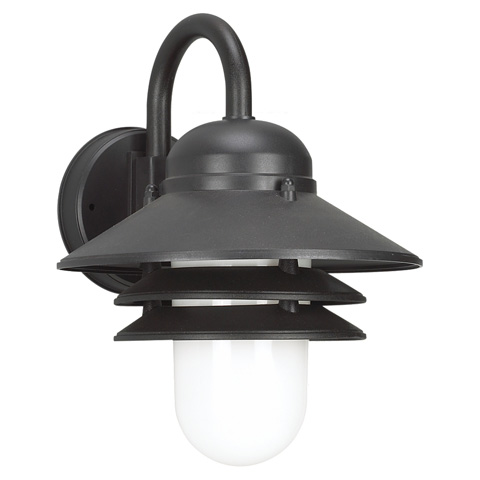 Sea Gull Lighting - One Light Outdoor Wall Lantern - 83055BLE-12