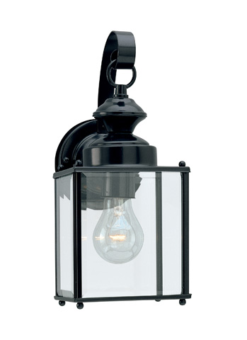 Sea Gull Lighting - One Light Outdoor Wall Lantern - 8457-12