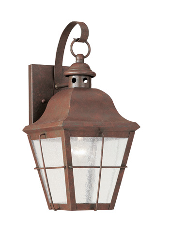 Sea Gull Lighting - One Light Outdoor Wall Lantern - 8462-44
