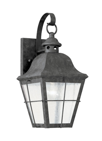 Sea Gull Lighting - One Light Outdoor Wall Lantern - 8462-46