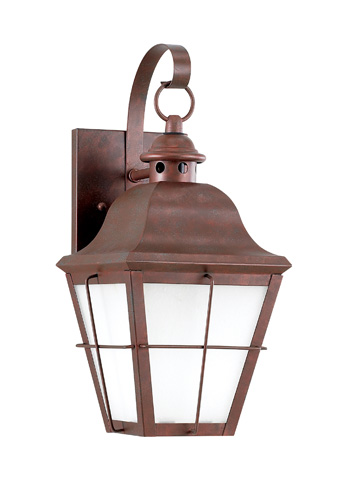 Sea Gull Lighting - One Light Outdoor Wall Lantern - 8462D-44