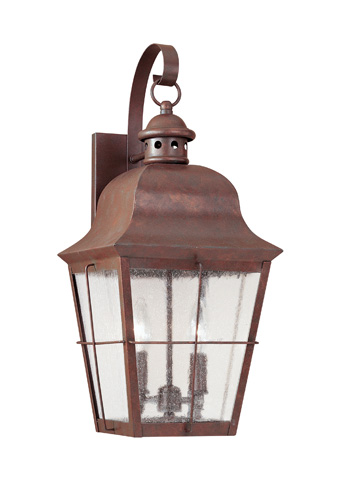 Sea Gull Lighting - Two Light Outdoor Wall Lantern - 8463-44