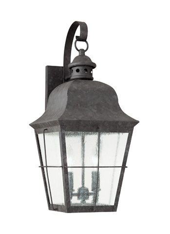 Sea Gull Lighting - Two Light Outdoor Wall Lantern - 8463-46
