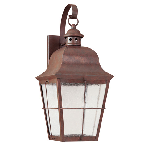 Sea Gull Lighting - Large LED Outdoor Wall Lantern - 846391S-44