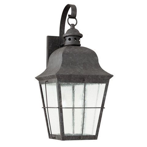 Sea Gull Lighting - Large LED Outdoor Wall Lantern - 846391S-46