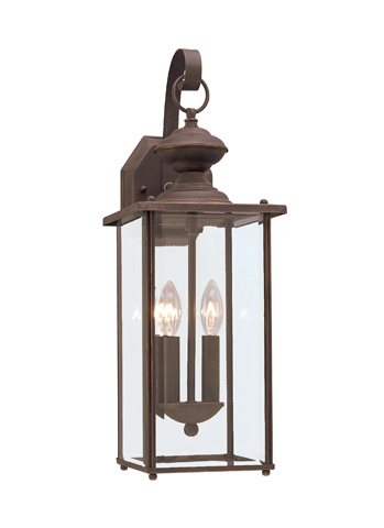 Sea Gull Lighting - Two Light Outdoor Wall Lantern - 8468-71