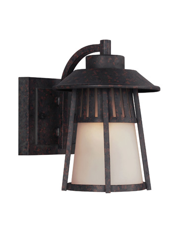 Sea Gull Lighting - Small One Light Outdoor Wall Lantern - 8511701BLE-746