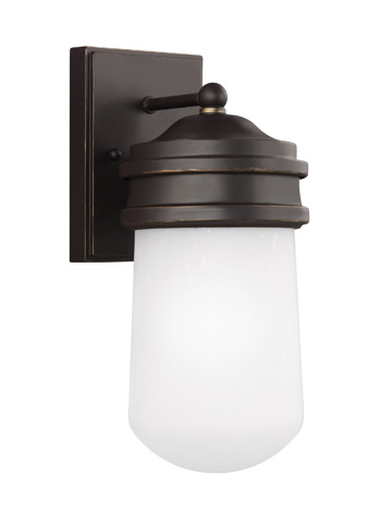 Sea Gull Lighting - Small One Light Outdoor Wall Lantern - 8512601BLE-71
