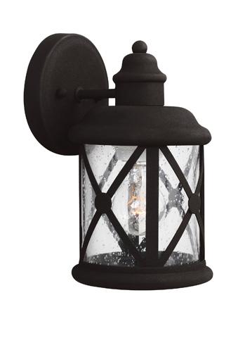 Sea Gull Lighting - Small One Light Outdoor Wall Lantern - 8521401-12