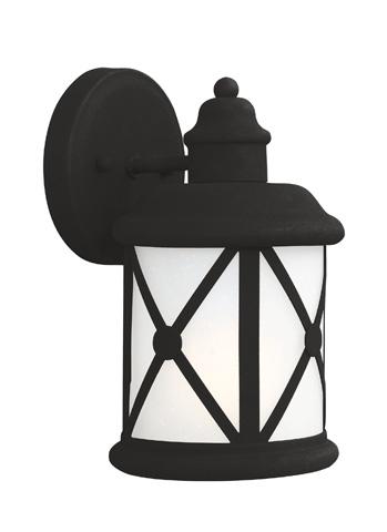 Sea Gull Lighting - Small One Light Outdoor Wall Lantern - 8521401BLE-12