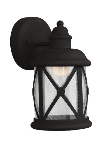 Sea Gull Lighting - Small LED Outdoor Wall Lantern - 8521492S-12