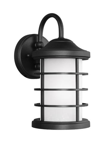 Sea Gull Lighting - Small One Light Outdoor Wall Lantern - 8524451BLE-12
