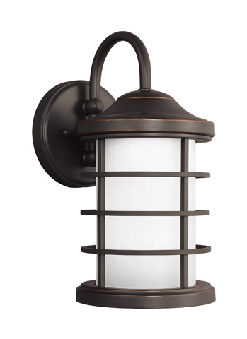 Sea Gull Lighting - Small LED Outdoor Wall Lantern - 8524491S-71