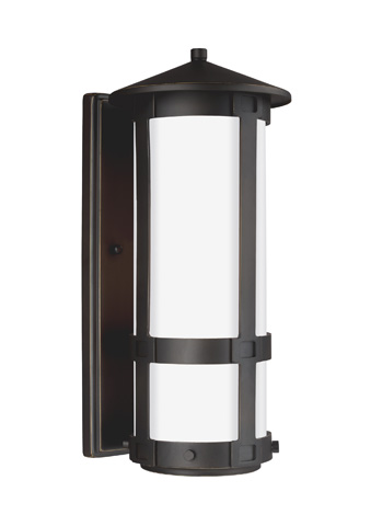 Sea Gull Lighting - Small LED Outdoor Wall Lantern - 8535991DS-71