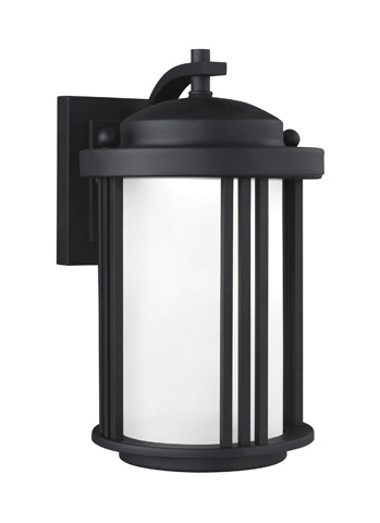 Sea Gull Lighting - Small LED Outdoor Wall Lantern - 8547991S-12