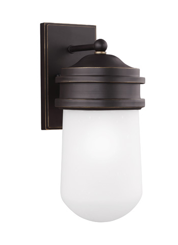 Sea Gull Lighting - Large One Light Outdoor Wall Lantern - 8612601-71
