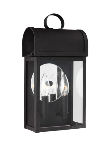 Sea Gull Lighting - Two Light Outdoor Wall Lantern - 8614802-12