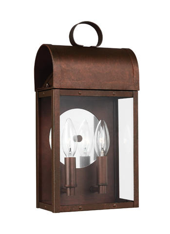 Sea Gull Lighting - Two Light Outdoor Wall Lantern - 8614802-44
