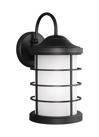 Sea Gull Lighting - Large One Light Outdoor Wall Lantern - 8624451-12