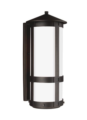 Sea Gull Lighting - Large One Light Outdoor Wall Lantern - 8635901-71