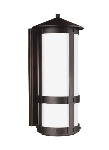 Sea Gull Lighting - Large LED Outdoor Wall Lantern - 8635991DS-71