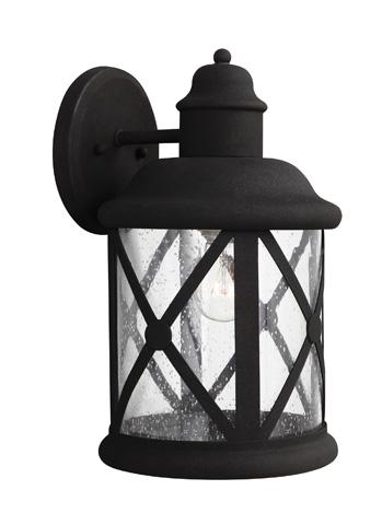 Sea Gull Lighting - Large One Light Outdoor Wall Lantern - 8721401-12