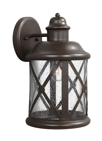 Sea Gull Lighting - Large One Light Outdoor Wall Lantern - 8721401-71