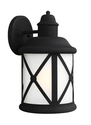 Sea Gull Lighting - Large One Light Outdoor Wall Lantern - 8721401BLE-12