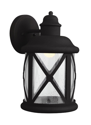 Sea Gull Lighting - Large LED Outdoor Wall Lantern - 8721492S-12