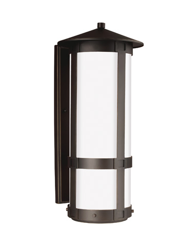 Sea Gull Lighting - Extra Large Two Light Outdoor Wall Lantern - 8735902-71
