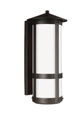 Sea Gull Lighting - Extra Large LED Outdoor Wall Lantern - 8735991DS-71