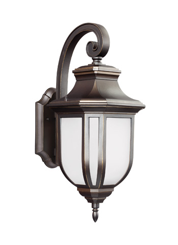 Sea Gull Lighting - Large One Light Outdoor Wall Lantern - 8736301-71