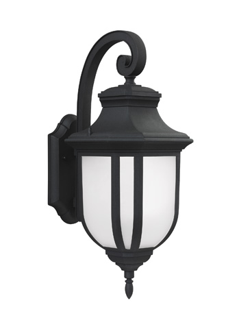 Sea Gull Lighting - Large LED Outdoor Wall Lantern - 8736391S-12