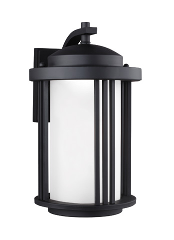 Sea Gull Lighting - Medium LED Outdoor Wall Lantern - 8747991DS-12