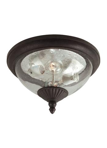Sea Gull Lighting - Two Light Outdoor Ceiling Flush Mount - 88068-746
