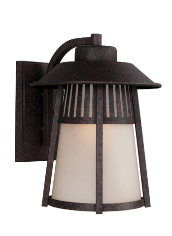 Sea Gull Lighting - Extra Large One Light Outdoor Wall Lantern - 8811701BLE-746