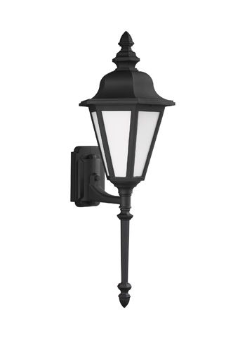 Sea Gull Lighting - Large One Light Outdoor Wall Lantern - 8823BLE-12