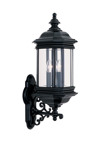 Sea Gull Lighting - Three Light Outdoor Wall Lantern - 8839-12