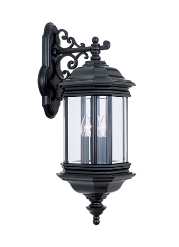 Sea Gull Lighting - Three Light Outdoor Wall Lantern - 8841-12