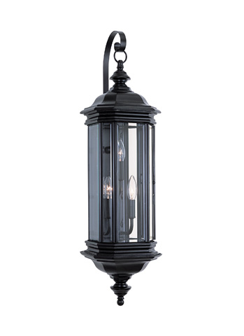 Sea Gull Lighting - Three Light Outdoor Wall Lantern - 8842-12
