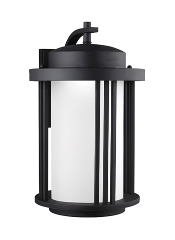 Sea Gull Lighting - Large LED Outdoor Wall Lantern - 8847991S-12