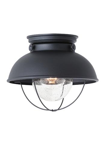 Sea Gull Lighting - One Light Outdoor Ceiling Flush Mount - 8869-12