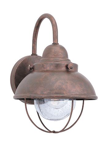 Sea Gull Lighting - Small LED Outdoor Wall Lantern - 887091S-44