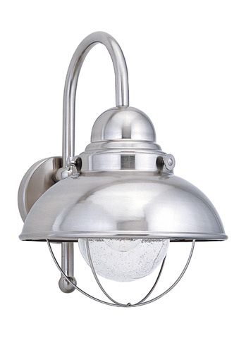 Sea Gull Lighting - Large LED Outdoor Wall Lantern - 887191S-98